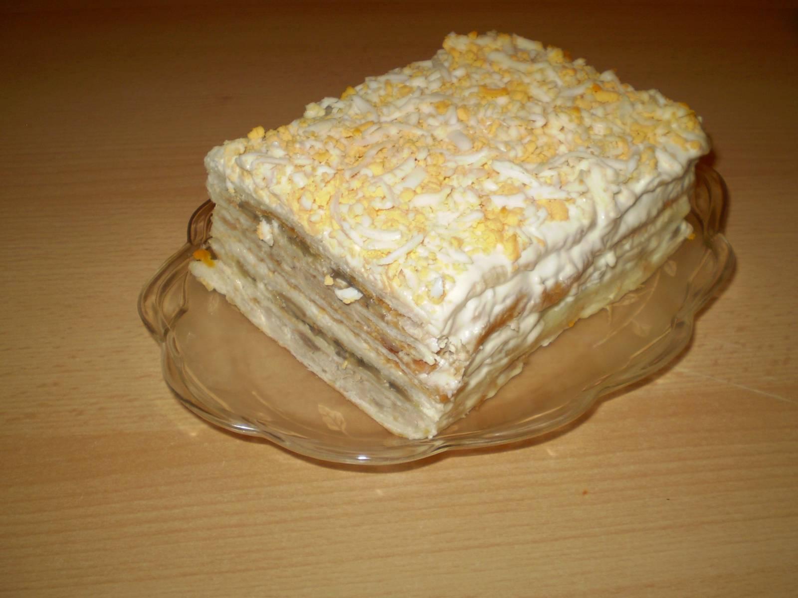 Рецепты из коржей наполеон пошагово